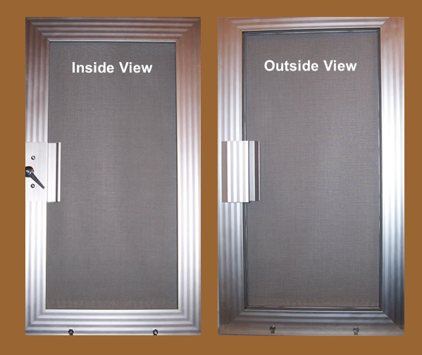 Interior screen door interesting make a garden screen for Interior screen door